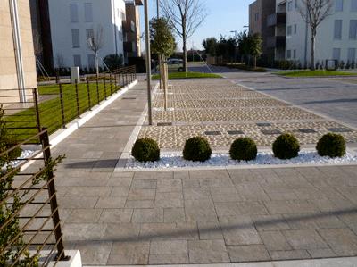 Pavimenti per esterni carrabili drenanti autobloccanti pavimenti