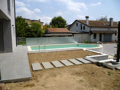 Pavimento per esterni modello
